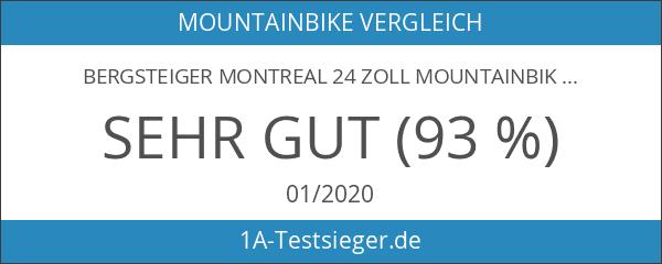 Bergsteiger Montreal 24 Zoll Mountainbike