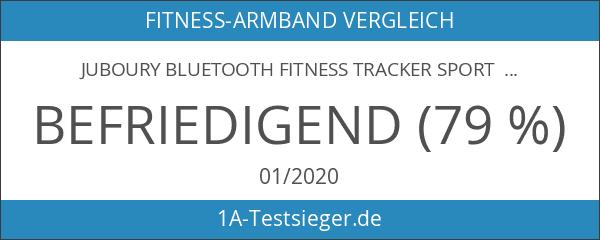 Juboury Bluetooth Fitness Tracker Sport Armband mit Schrittzähler