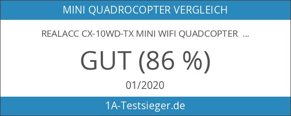 REALACC CX-10WD-TX Mini Wifi Quadcopter mit Kamera High Hold Mode
