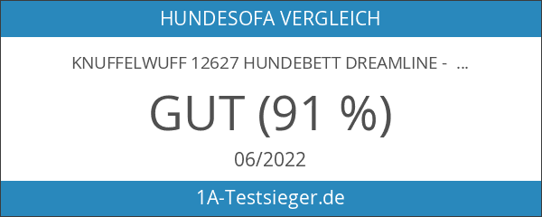 Knuffelwuff 12627 Hundebett Dreamline - Größe XXL 120 x 85cm