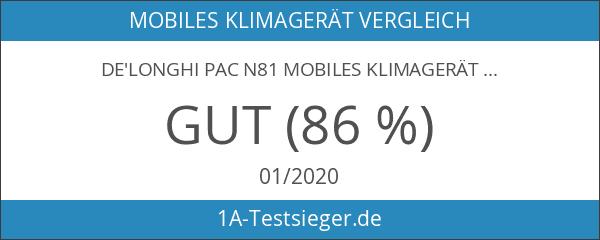 De'Longhi PAC N81 Mobiles Klimagerät [Energieklasse EEK A]