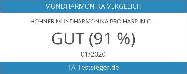 Hohner Mundharmonika Pro Harp in C