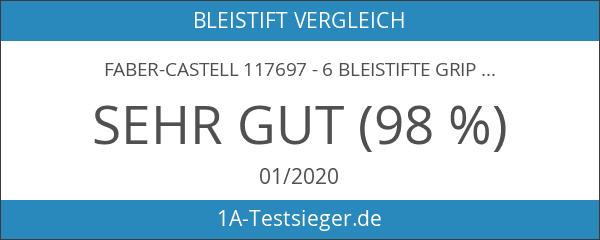 Faber-Castell 117697 - 6 Bleistifte GRIP 2001