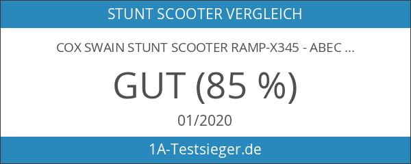 COX SWAIN Stunt Scooter Ramp-X345 - Abec 9 und PU