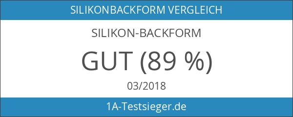 Silikon-Backform