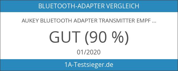 AUKEY Bluetooth Adapter Transmitter Empfänger Funktionen 2 in 1 Wireless