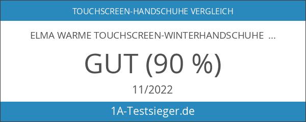 ELMA Warme Touchscreen-Winterhandschuhe für Herren