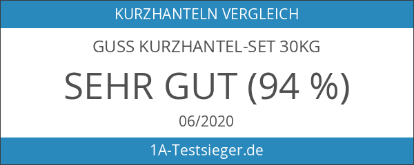 Guss Kurzhantel-Set 30kg