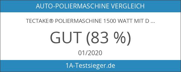 TecTake® Poliermaschine 1500 Watt mit Drehgriff 0-3000 U