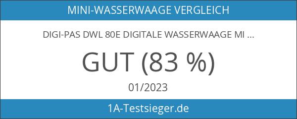Digi-Pas DWL 80E Digitale Wasserwaage mit Genauigkeit 0
