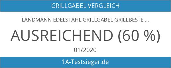 Landmann Edelstahl Grillgabel Grillbesteck Grillzubehör Grill Gabel Grillspieß