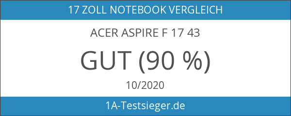 Acer Aspire F 17 43