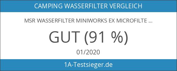 MSR Wasserfilter MiniWorks EX Microfilter NEU