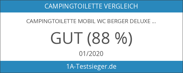 Campingtoilette Mobil WC Berger Deluxe