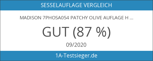 Madison 7PHOSA054 Patchy olive Auflage hoch 50% Baumwolle 50% Polyester