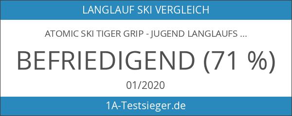 Atomic Ski Tiger Grip - Jugend Langlaufski incl SNS Auto