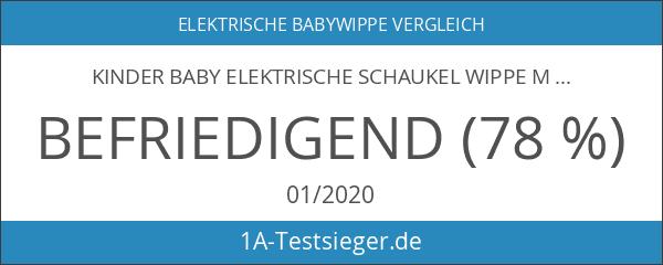 Kinder Baby elektrische Schaukel Wippe Melodie Spielzeug Schaukelsitz Garten
