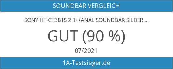 Sony HT-CT381S 2.1-Kanal Soundbar silber