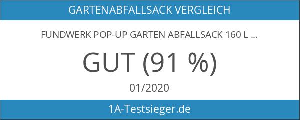 Fundwerk Pop-up Garten - Abfallsack 160 L - 3er Set