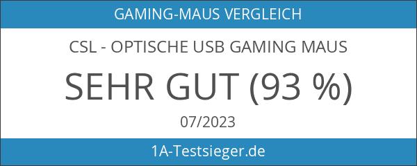 CSL - Optische USB Gaming Maus