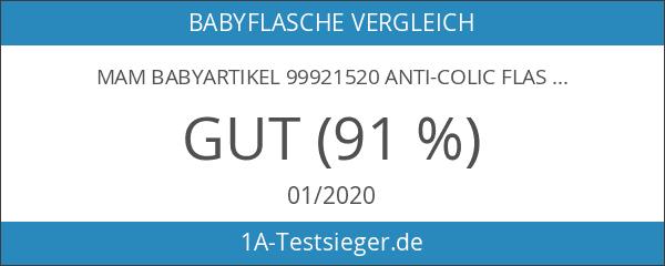 MAM Babyartikel 99921520 Anti-Colic Flasche 260 ml Neutral Doppelpack