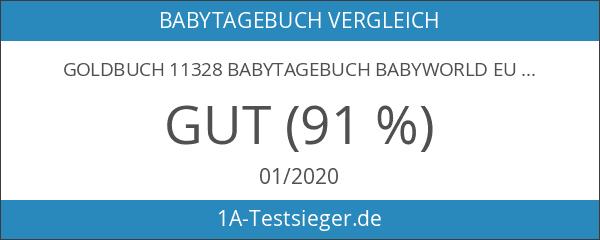 Goldbuch 11328 Babytagebuch Babyworld Eule