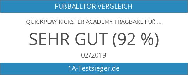 QUICKPLAY Kickster Academy Tragbare Fußballtore