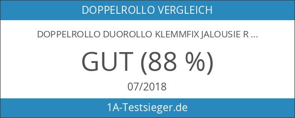 Doppelrollo Duorollo Klemmfix Jalousie Rollo ohne Bohren Seilführung 3 FARBIG!