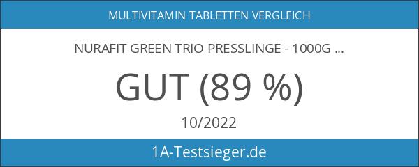 NuraFit Green Trio Presslinge - 1000g