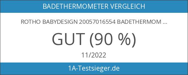 Rotho Babydesign 20057016554 Badethermometer Style WTP