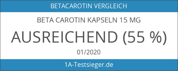 Beta Carotin Kapseln 15 mg