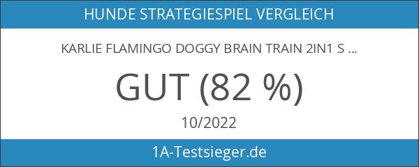 Karlie Flamingo Doggy Brain Train 2in1 Strategiespiel für Hunde