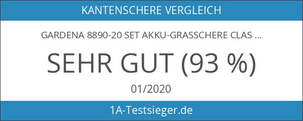 Gardena 8890-20 Set Akku-Grasschere ClassicCut