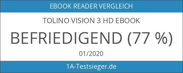 tolino Vision 3 HD eBook