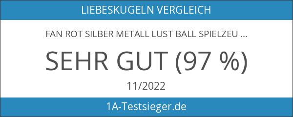 Fan Rot Silber Metall Lust Ball Spielzeug Sex Toy Ball