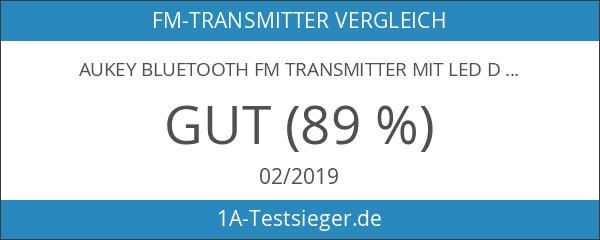 AUKEY Bluetooth FM Transmitter mit LED Display