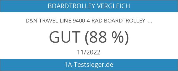 d&n Travel Line 9400 4-Rad Boardtrolley 54cm 15 limette