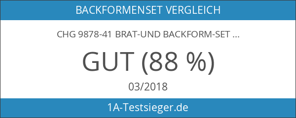 CHG 9878-41 Brat-und Backform-Set