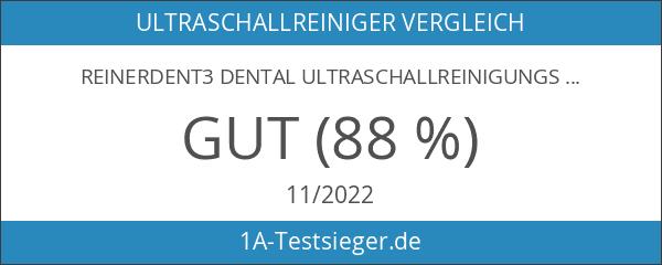 reinerDENT3 Dental Ultraschallreinigungsgerät – inkl. Prothesenbürste