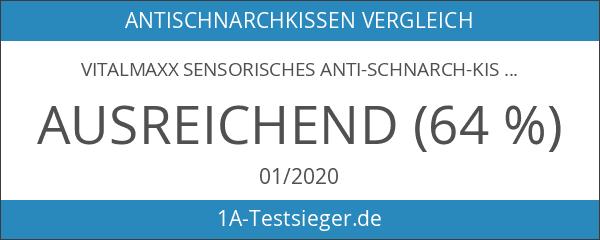 vitalmaxx Sensorisches Anti-Schnarch-Kissen