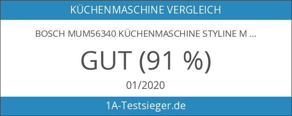 Bosch MUM56340 Küchenmaschine Styline MUM5 silber