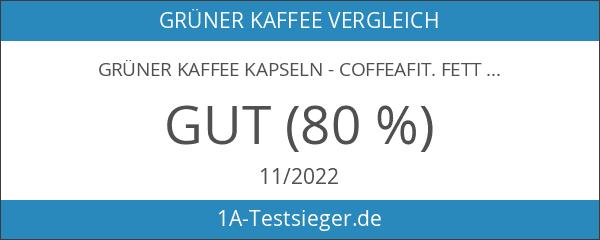 Grüner Kaffee Kapseln - CoffeaFit. Fettverbrenner mit green coffee Extrakt.