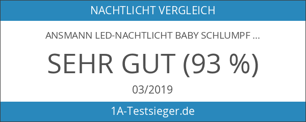 ANSMANN LED-Nachtlicht Baby Schlumpf