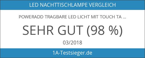 Poweradd Tragbare LED Licht mit Touch Tasten