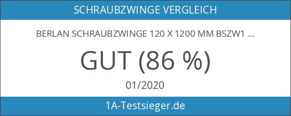 Berlan Schraubzwinge 120 x 1200 mm BSZW120-1200