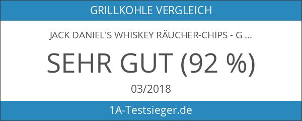 Jack Daniel's Whiskey Räucher-Chips - Grillzubehör - 900g