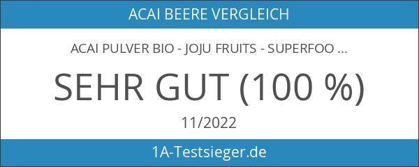 JoJu Fruits - Acai Pulver Bio - Superfood aus Acai