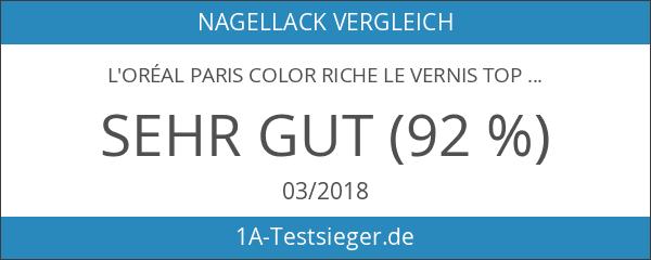 L'Oréal Paris Color Riche Le Vernis Top Coat Matte Nagellack