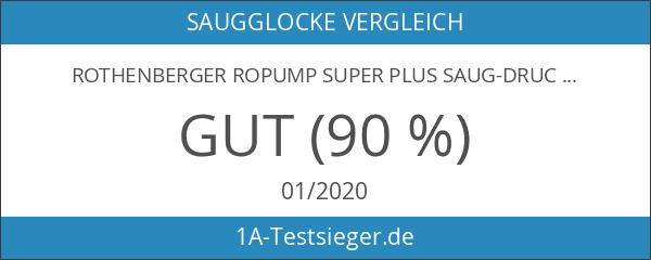 Rothenberger Ropump Super Plus Saug-Druckreiniger mit 2 Adaptern und 1