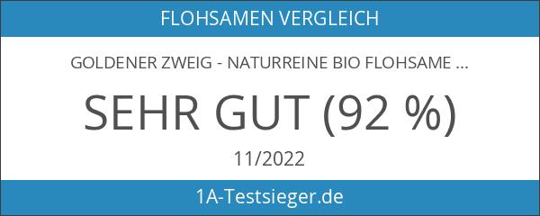 Goldener Zweig - naturreine BIO Flohsamenschalen - 1kg